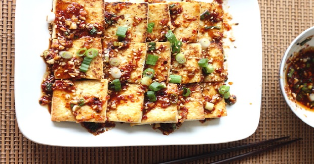 Hwagaejangtuh Seasoned Tofu